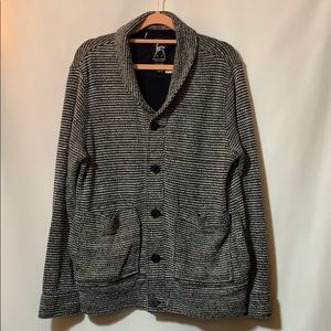 Kane & Unke Med. button front sweater jacket